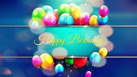 Happy Birthday Wallpaper by Happy Birthday Balloons Wallpaper Gallery