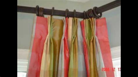 curtain   install corner window curtain rod