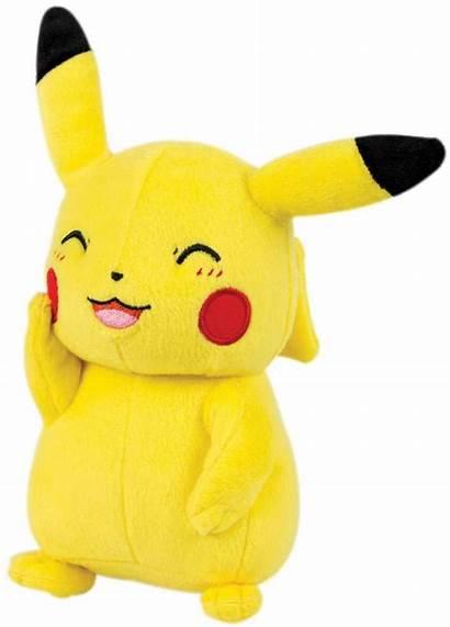 Pikachu Plush Pokemon Walmart Stuffed Animal Waving