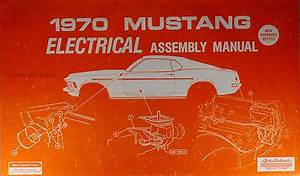 1970 Ford Lincoln Mercury Car Repair Shop Manual Reprint Set
