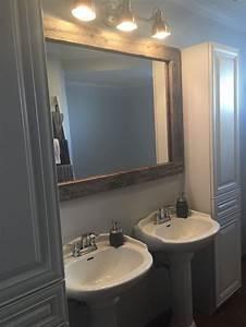 Miroir Bois Salle De Bain : 25 best ideas about miroir bois on pinterest miroir palette miroir de bois and meubles de ~ Teatrodelosmanantiales.com Idées de Décoration
