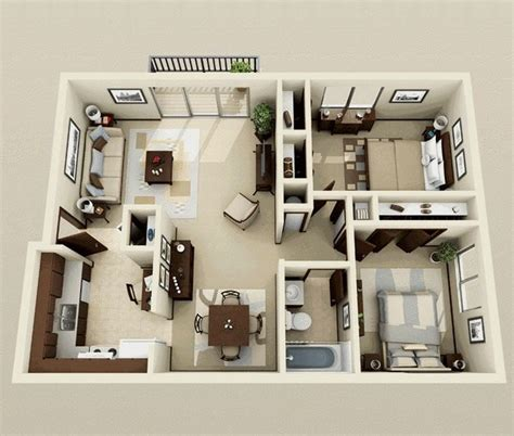fresh two bedroom apartment layout 25 best ideas about 2 bedroom apartments on