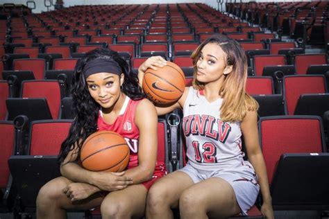 lets meet unlv lady rebels basketball duo  gonzalez