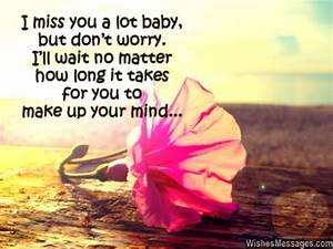 I Miss You Messages for Girlfriend: Missing You Quotes for ...