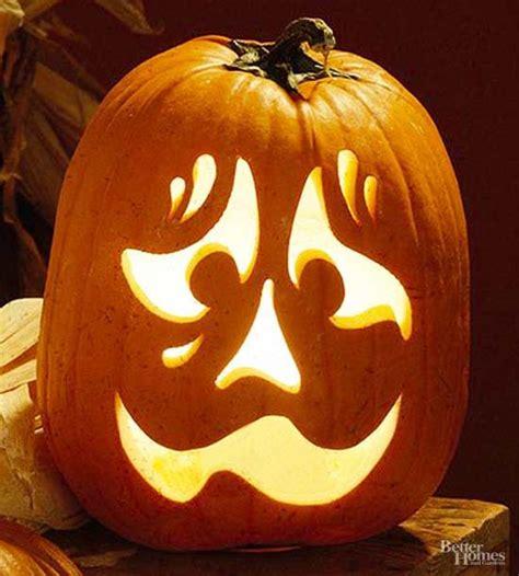 Nervous Face Pumpkin Stencil  Hall, Face And Beads