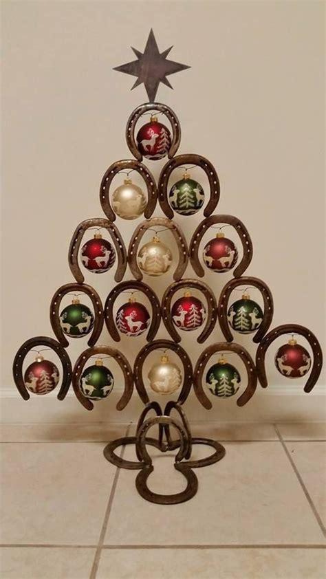 Deko Baum Metall Weihnachten by Horseshoe Tree By Metalcrafttn On Etsy 12days
