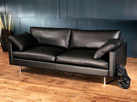 canapé en cuir design canapé cuir design et haut de gamme canapé