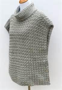 Girls Crochet Poncho Pattern
