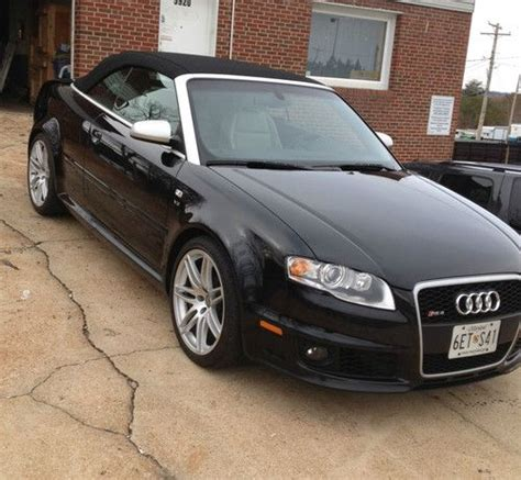 audi 4 door convertible sell used 2008 audi rs4 cabriolet convertible 2 door 4 2l