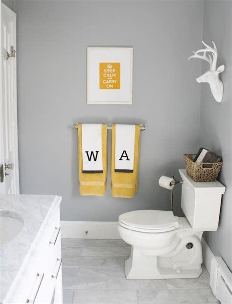 marina gray contemporary bathroom benjamin moore