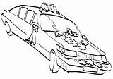 Limousine Coloring Limo sketch template