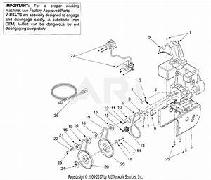 Mtd 31ae665e118  2001  Parts Diagram For Belt Drive Assembly