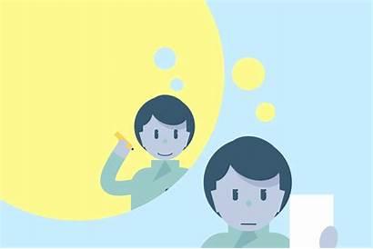 Students Illustration Looping Animations Idea 2nd Digital