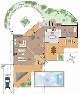 maison d39architecte 1 detail du plan de maison d With realiser plan de maison 7 architecte chasselay