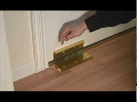 how to secure a door from being kicked in door barricade nightlock home security door brace