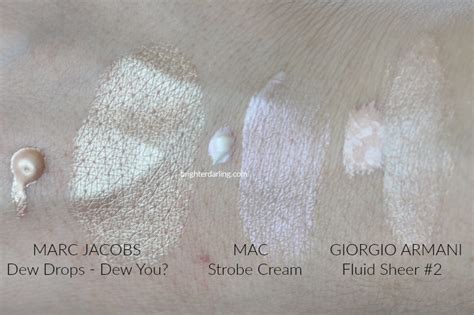marc jacobs dew drops review liquid highlighter  oily