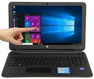 New Hp 15 6 Touch Screen 4gb 500gb Hd Quad Core Windows 10 Home 15