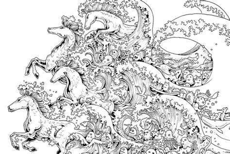 intricate adult coloring books    de stress