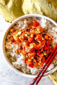 30 Minute Kung Pao Shrimp with Customizable Heat!