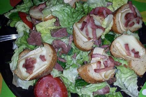 cuisiner des gesiers recette salade de gésiers fromage chaud sur la cuisine de