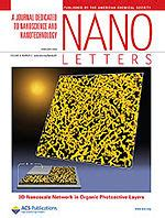Nano Letters Cover Letter by Nano Letters