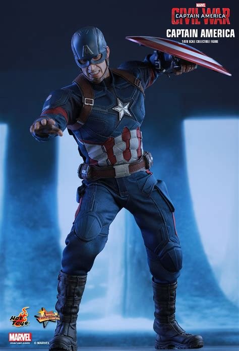 hot toys mms captain america civil war captain