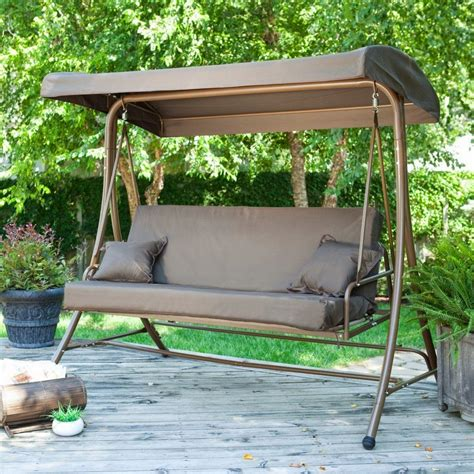Patio Swing by Outdoor Patio Swings Newsonair Org