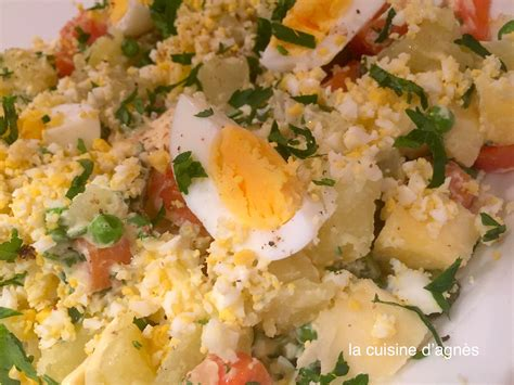 cuisine polonaise recette salade à la polonaise la cuisine d 39 agnèsla cuisine d 39 agnès