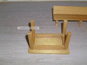 Tisch Für Eckbank : ltere sitzbank eckbank tisch aus holz f r puppenstube puppenk che 1 12 ~ Orissabook.com Haus und Dekorationen