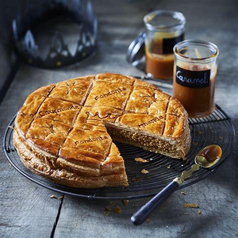 hervé cuisine galette des rois recette galette des rois à la frangipane caramel au beurre salé