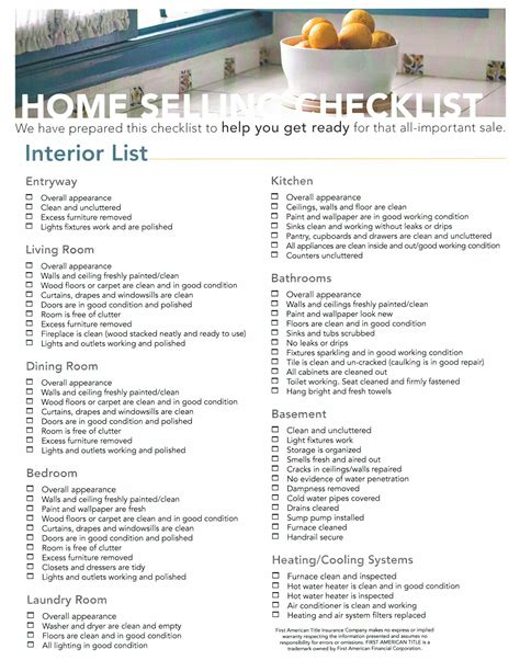 home design checklist free home selling checklist for snohomish county