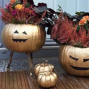 Halloween Deko Für Draussen : do it yourself goldene halloween deko sophiagaleria ~ Frokenaadalensverden.com Haus und Dekorationen
