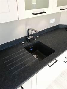 1000 idees sur le theme plan de travail granit sur for Decoration pour jardin exterieur 5 cuisine quartz noir