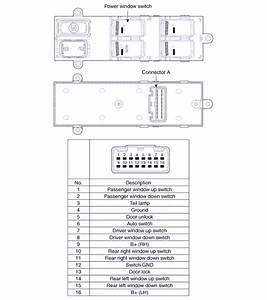 Kia Optima  Driver Power Window Switch  1  - Power Window Switch  Schematic Diagrams