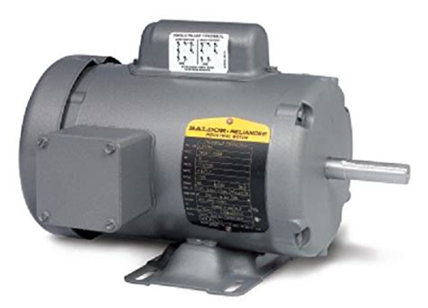 Electric Motor Horsepower by Baldor L3509m 1 Horsepower 3400 Rpm Industrial Electric