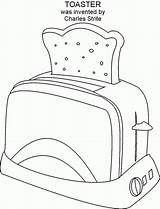 Coloring Toaster Brave Popular Template Coloringhome sketch template