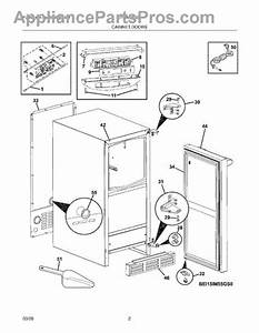 Parts For Electrolux Ei15im55gs0  Cabinet Doors Parts