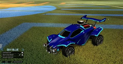 Buying request hub makes it simple, with just a few steps: Rocket League Sky Blue Octane Designs