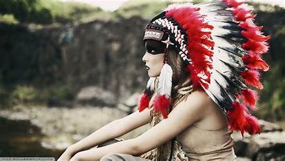 Native Indian Headdress Americans Desktop Indiano Copricapo