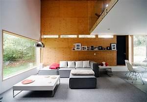 Maison En L Moderne : une maison moderne la campagne ~ Melissatoandfro.com Idées de Décoration