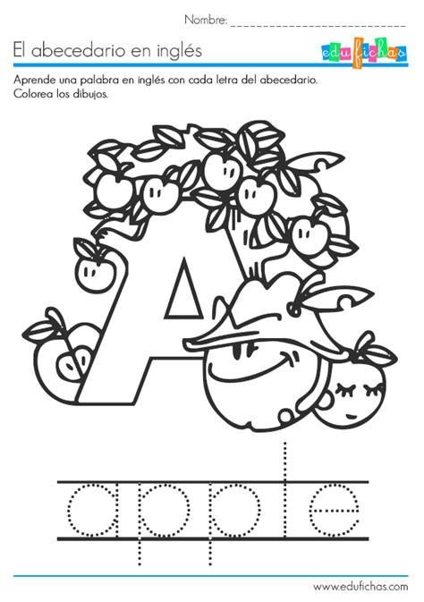 coplas cada letra del abecedario el abecedario en ingl 233 s fichas educativas infantiles