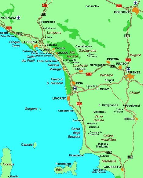 riviera toscana le guide de vacances sur la cote