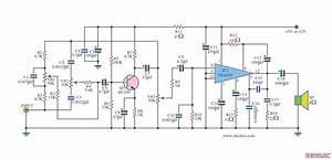Circuit Power Amp 7w With Ic Tba810  U2013 Circuit Wiring Diagrams