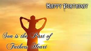 Happy Birthday Son Wishes Quotes Wallpapers From Dad