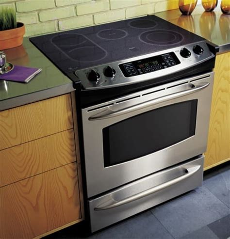 ge jssfss     cleandesign electric convection range stainless steel