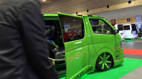 Toyota Hiace Modification by Toyota Hiace Best Modification Or Drifting 2018