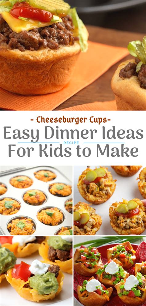 25 is family day—a day to eat dinner with your children. Easy Dinner Ideas for Kids | Easy dinner, Picky eaters ...