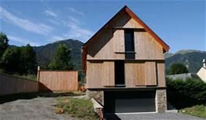 presentation de mp et o prax architectes st gaudens With plan de maison moderne 1 plan facades maison ossature bois primaude epure bois