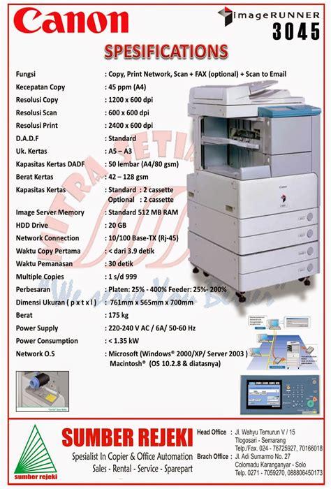 sumber rejeki sewa mesin fotocopy semarang