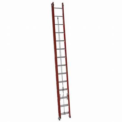 Extension Ladder Fiberglass Werner Type Ft Lb